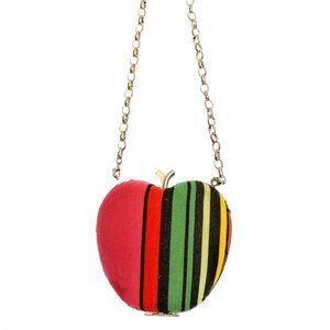 Apple clutch purse